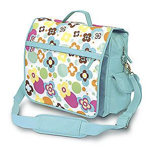 On sale at 50% off. Retro Dots & Daisy Flower Messenger Laptop/school Case http://www.beetlebugs.net/shop/product_info.php?products_id=1683