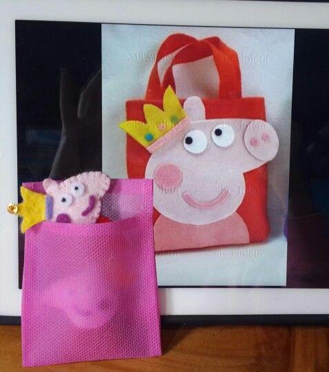 Hebillas Peppa Pig