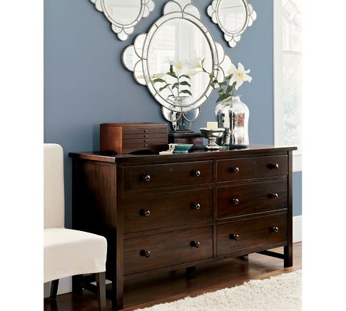 Farmhouse Extra Wide Dresser Home Is Where The Heart Is