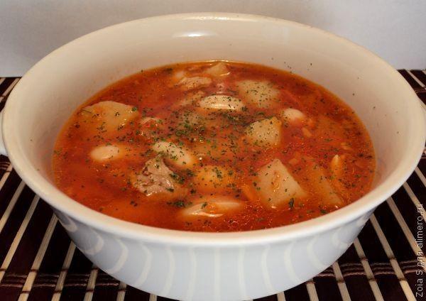 Суп из белой фасоли вкусное и питательное блюдо. Оно отлично подходит для разнообразия меню особенно когда приедаются традиционные супы и борщи. Для приготовления супа из фасоли на...