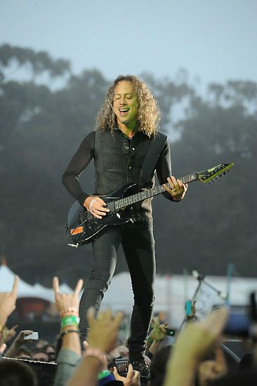 Kirk Hammett, 2012 Outside Lands Music And Arts Festival - Lands End Stage - Day 2 by Jeff Kravitz