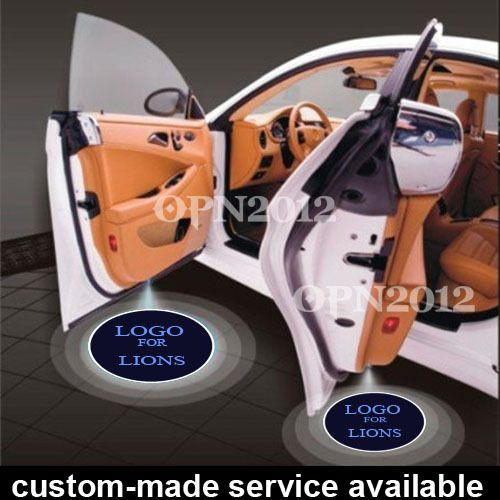 ==> [Free Shipping] Buy Best 2 x Car Door Step Courtesy Welcome LED Logo Light Laser Projector Ghost Shadow Emblem For New York GIANTS NFL Football #1164 Online with LOWEST Price | 32776140699