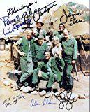 #6: Mash with Alan Alda Cast Signed Autographed 8 X 10 Reprint Photo  Mint Condition