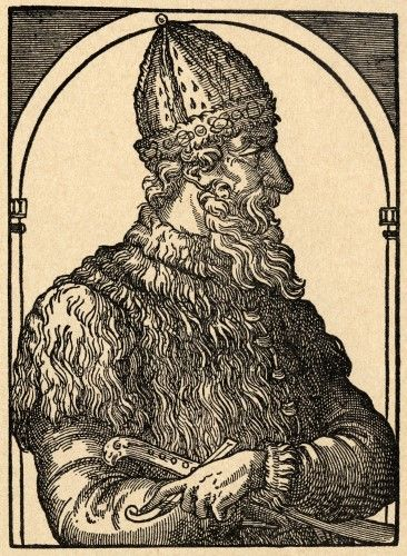 Ivan Iii Vasilevich 1440 - 1505. Ivan The Great. Grand Prince Of Moscow. Grand Prince Of All Russia. From Sveriges Historia By Otto Sjogren, Published Malmo 1938. Poster Print (24 x 34)