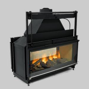 INSERT Godin - Wood stove