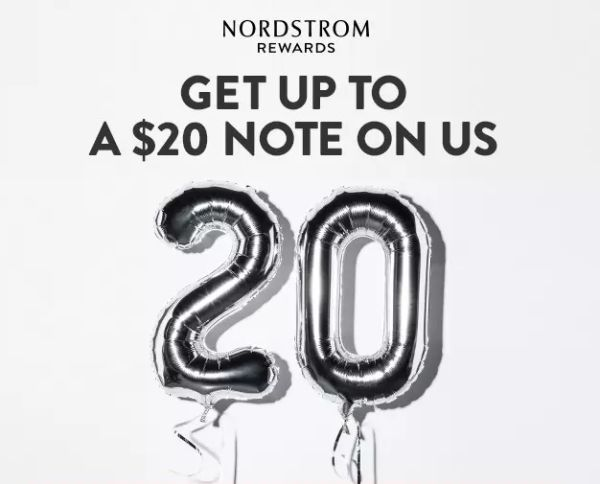 FREE $10 Nordstrom Promotional Certificate