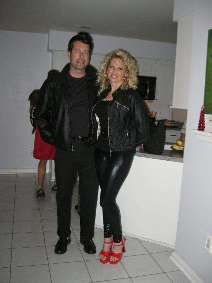 Danny And Sandy Grease Halloween 🎃 🌛 💄 💗 🎉 🍷 🌙 Costume