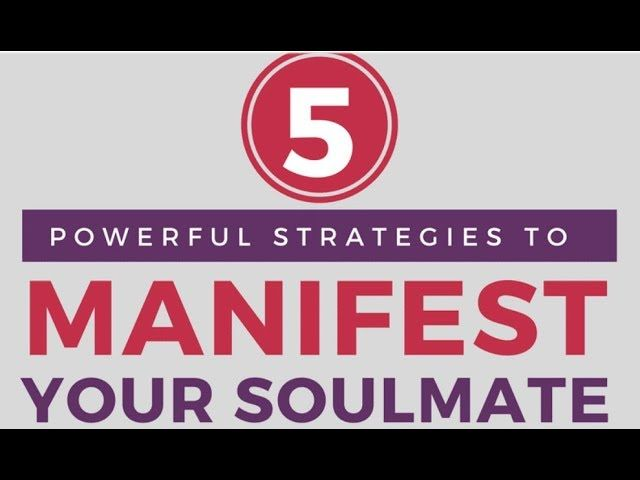 """Check out my newest video: """"Tips for Manifesting Your Soulmate!"""" https://www.youtube.com/watch?v=vl92b7NIkwY&feature=youtu.be&utm_content=bufferceeb5&utm_medium=social&utm_source=pinterest.com&utm_campaign=buffer"""