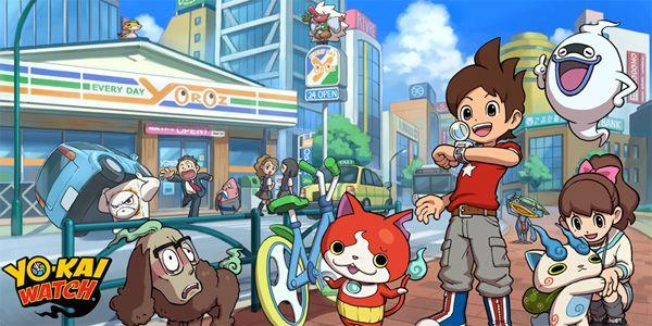 Nintendo 3DS ocidentais receberão Yo-Kai Watch