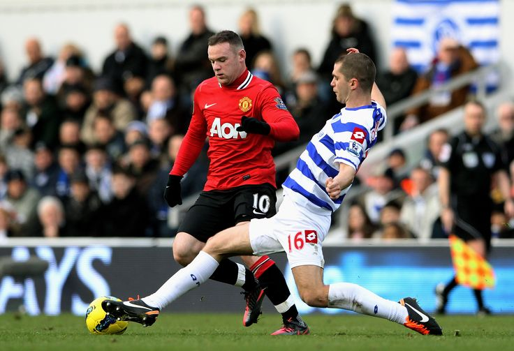 @QPR stopping Wayne Rooney with ease #9ine