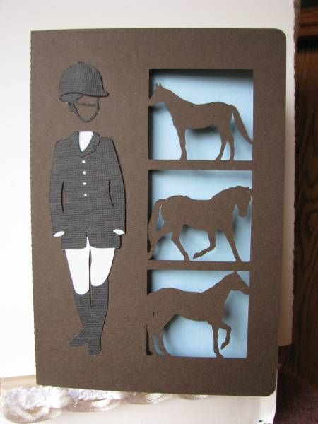 Horse card by Jakester - Cards and Paper Crafts at Splitcoaststampers
