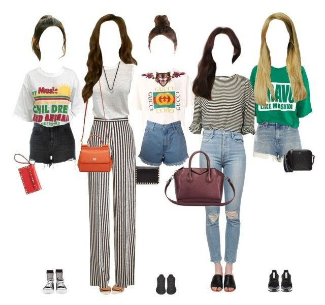 Promise arriving at music show by promise-official on Polyvore featuring polyvore, fashion, style, Gucci, Etro, Alexander Wang, River Island, Charlotte Russe, adidas Originals, Converse, G-Star Raw, Givenchy, Dolce&Gabbana, Anya Hindmarch, Valentino, Kerr®, adidas, clothing and myselfera