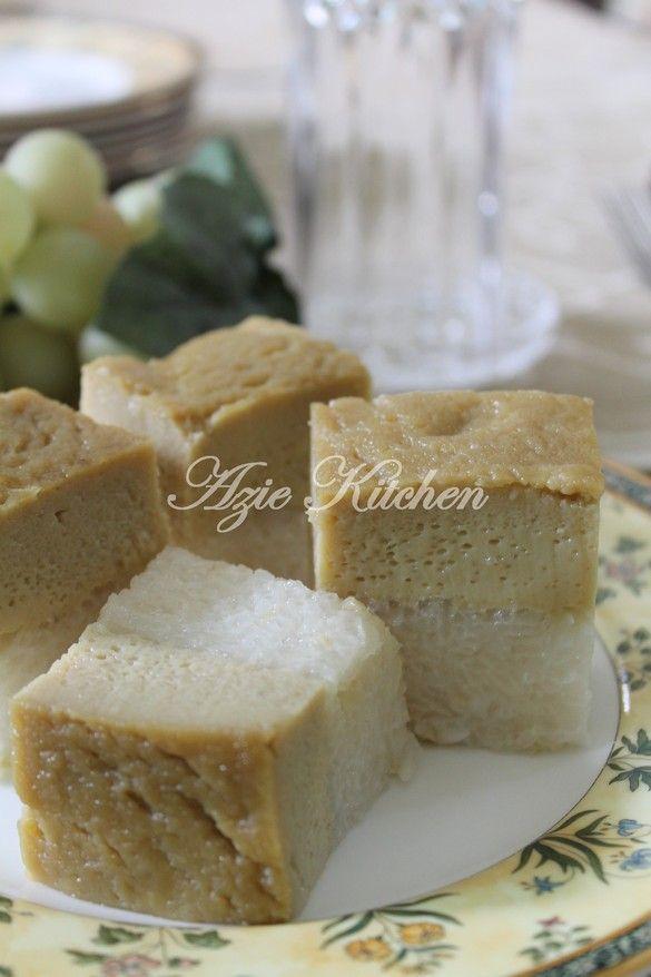 Azie Kitchen: Pulut Sekaya - Resepi III