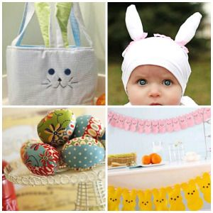 78 best easter sewing projects images on pinterest easter crafts 22 easter projects to sew negle Image collections