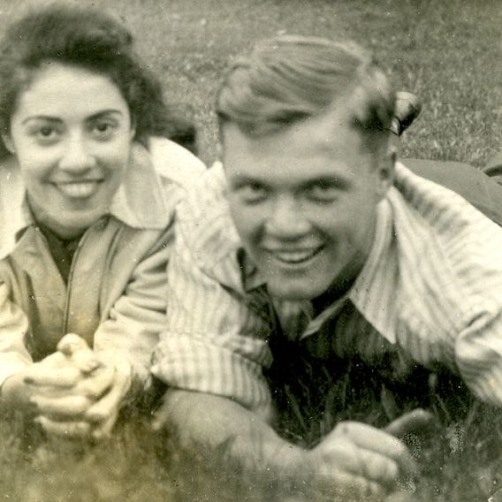 Annie and John Glenn ... even today they're still married