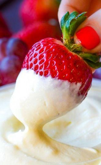 healthy fruit crisp desserts dip for fruit