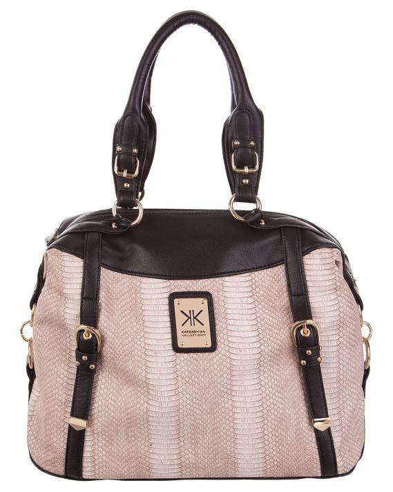 Kardashian Kollection Kk Reptile Tote Bag