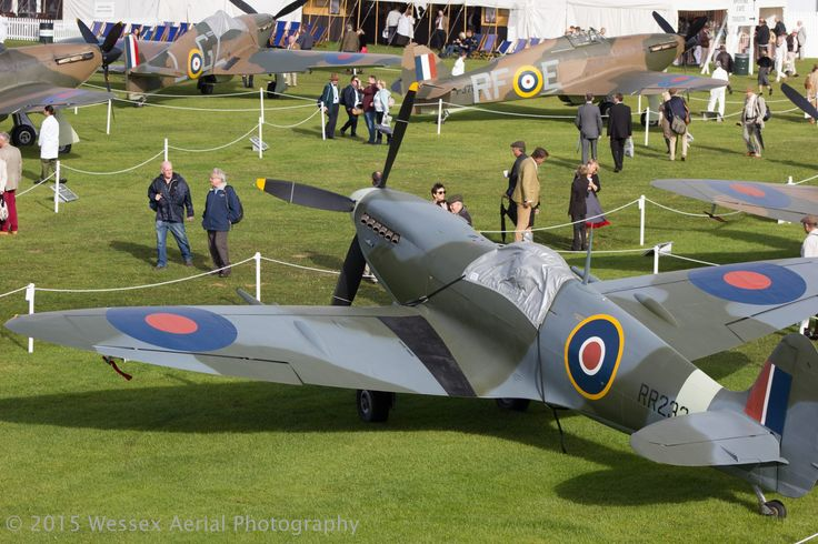 #Warbirds #Spitfires #Hurricanes #Seafire #Blenheim at Goodwood Revival 2015