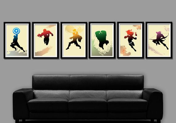 For serious Avenger Fans, 6 beautiful quality digital poster prints from BigTime. Set Includes Poster 1 - Captain America Poster 2 - Iron Man