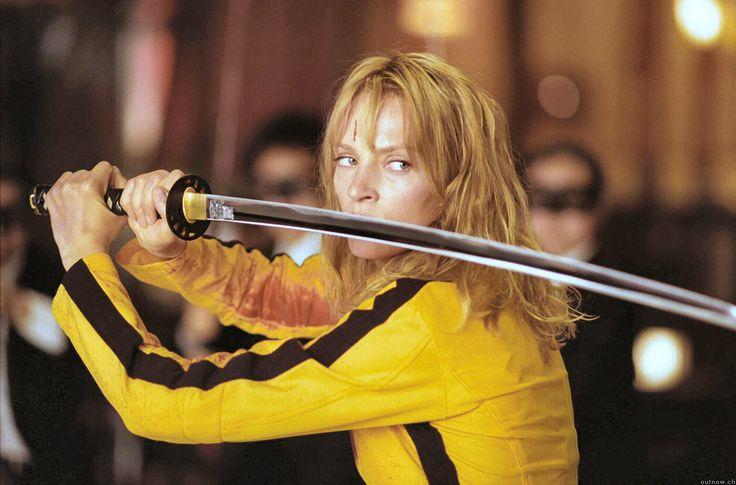 The Bride a.k.a. Black Mamba a.k.a. Beatrix Kiddo (Uma Thurman) - Kill Bill 1 & 2