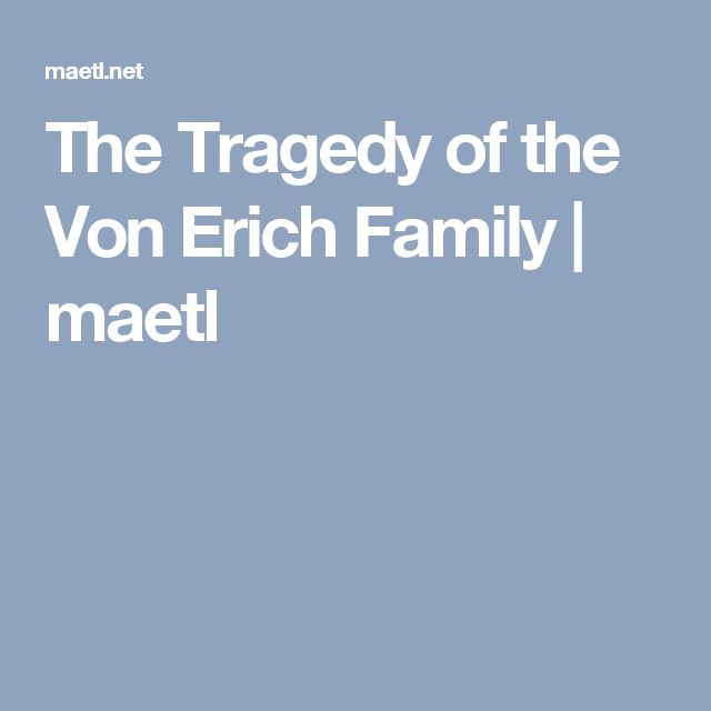 The Tragedy of the Von Erich Family | maetl