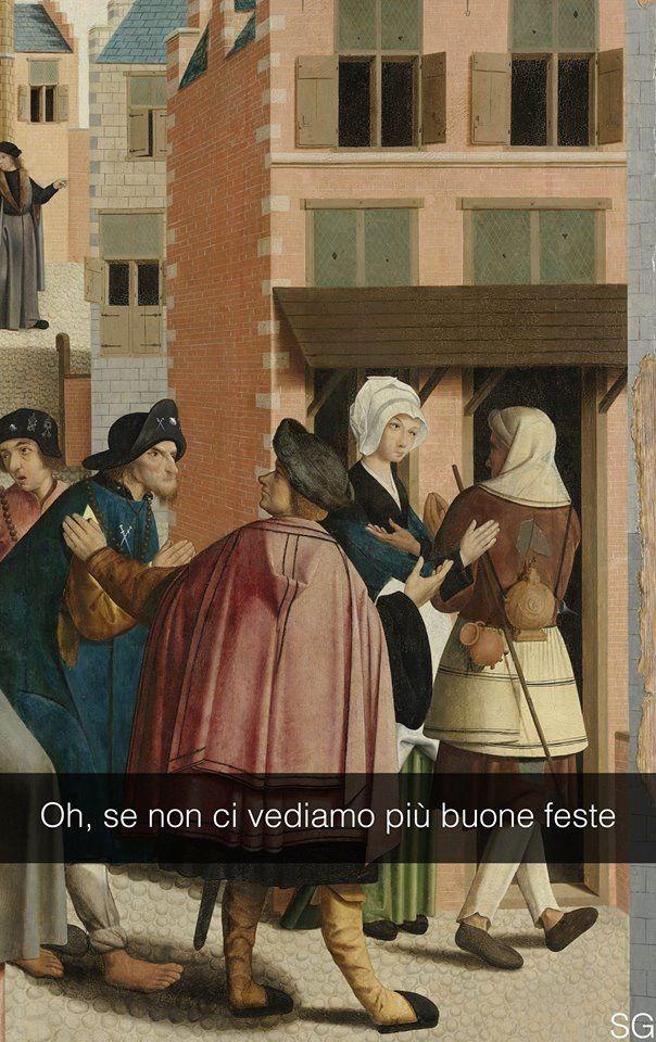 """Maestro di Alkmaar . """" Le sette Opere di Misericordia """""""
