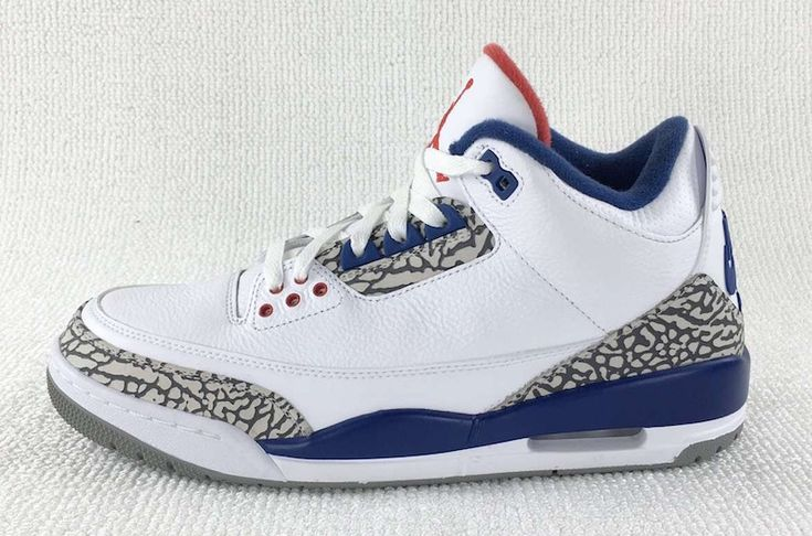 The Whole Family Can Acquire The Air Jordan 3 True Blue