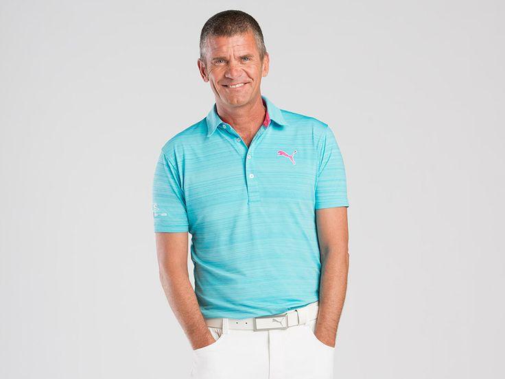 (M) PUMA Golf Barcode Polo Trimark Sportswear Group