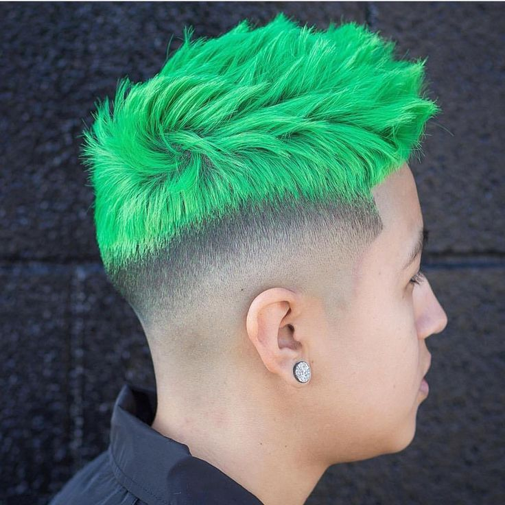 mens hair style photos quia inherited or acquired traits of green hair color for 7326