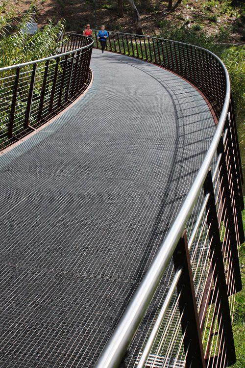 92 best images about pedestrian bridges esplanades on for Oxigen landscape
