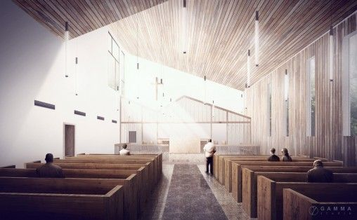 Saint Paul's Church, Payson, AZ, Modal Design, Los Angeles, CA, 2015