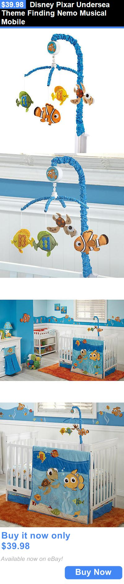 Baby Nursery: Disney Pixar Undersea Theme Finding Nemo Musical Mobile BUY IT NOW ONLY: $39.98