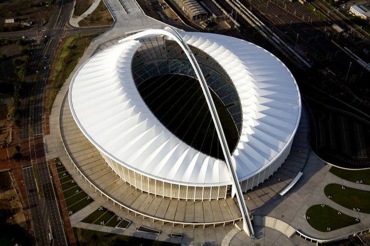 Moses Mabhida - The Arch of Triumph over the stadium #Durban