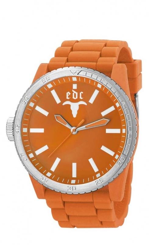 EDC Rubber Star - vibrant orange