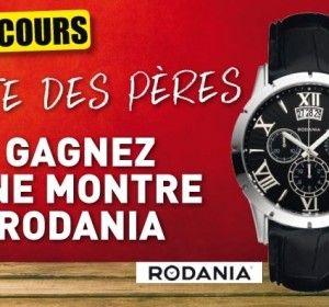 Une montre Rodania offerte pour la fête des pères !