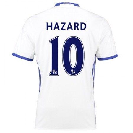 Chelsea 16-17 Eden #Hazard 10 TRødje trøje Kort ærmer,208,58KR,shirtshopservice@gmail.com