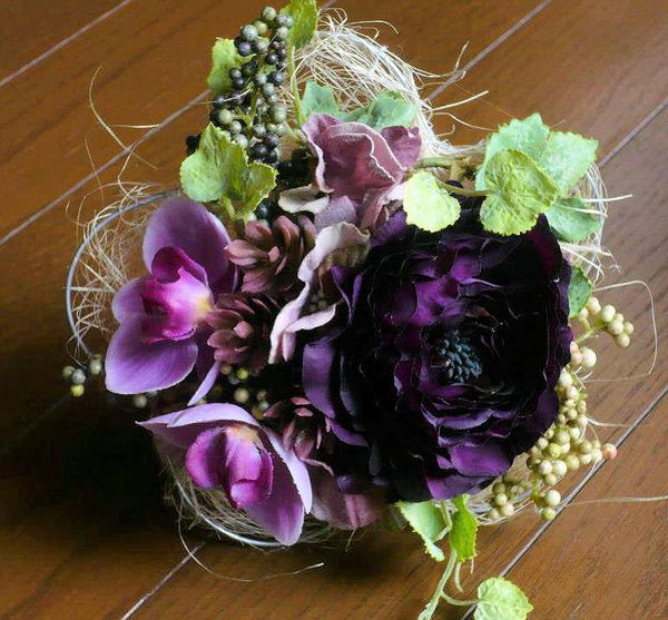 Small Artificial Flower Bouquet by Kent Florist Mikiko Inoue