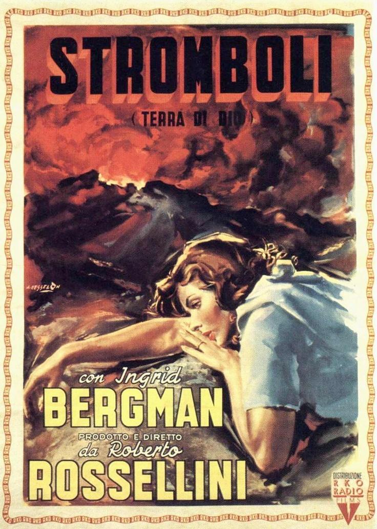 Stromboli con Ingrid Bergman  di Roberto Rossellini