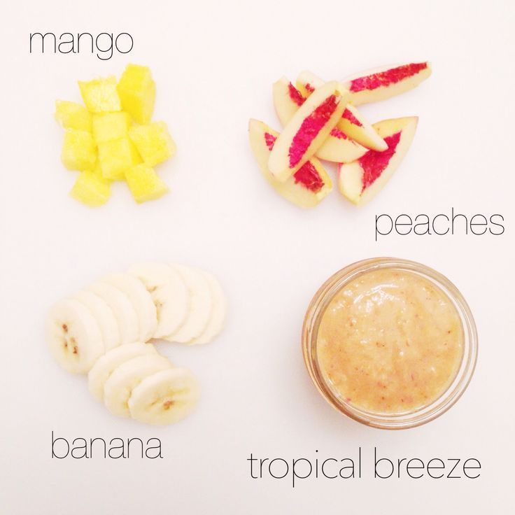 Tropical Breeze Puree Homemade Baby Food Recipes Baby