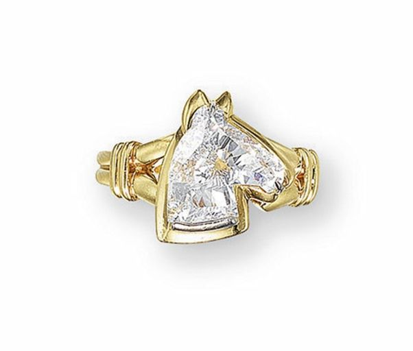 394 best horse jewelry accessory images on pinterest horse a diamond horse ring christies aloadofball Choice Image
