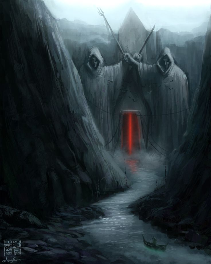The Styx is a river in Greek mythology that formed the boundary between Earth and the Underworld.