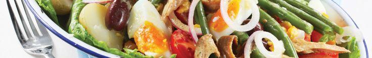 Enjoy a Viking River Cruises salad recipe - Salad Nicoise