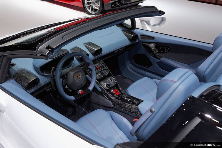 This blue interior with red stitching and Forged Composite finish looks amazing…