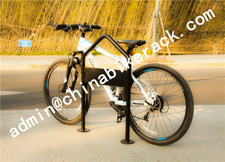 outdoor bike rack