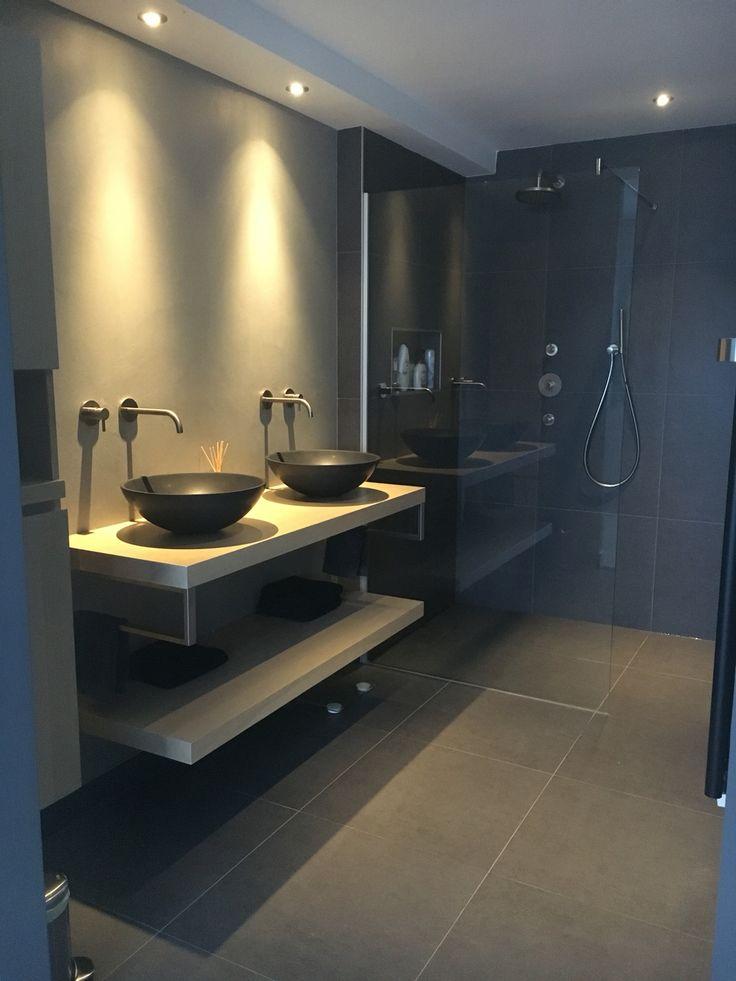 25 beste idee n over moderne badkamer verlichting op pinterest modern badkamerontwerp - Badkamer cocooning ...