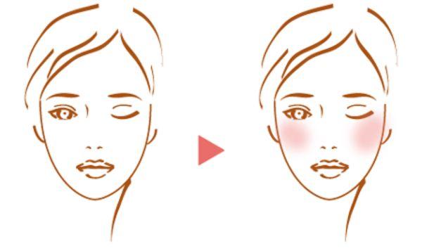 自分に合ったチークの入れ方で小顔効果!-STYLE HAUS(スタイルハウス)