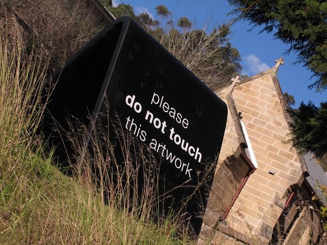 Gary Deirmendjian_DO NOT_2011_polystyrene, timber, urethane (hardcoat)_2 x 2 x 2.4m