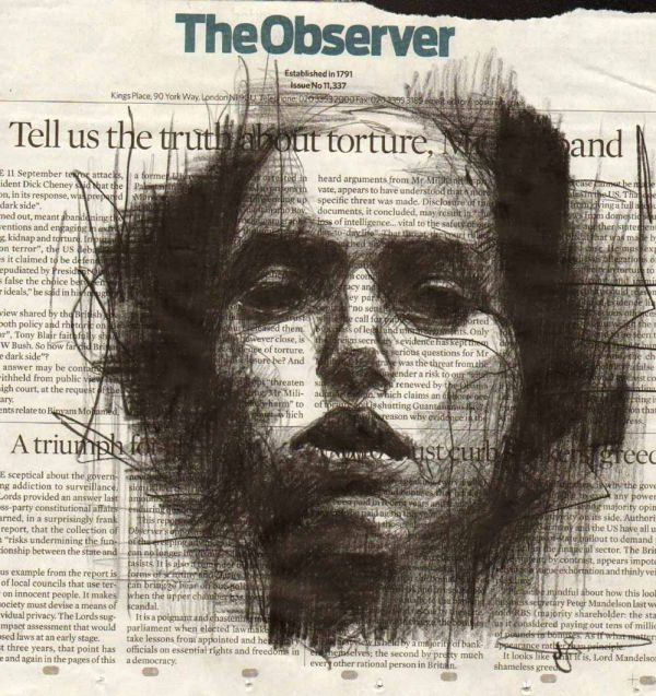 GUY DENNING - TELL US THE TRUTH ABOUT TORTURE (SOLD)