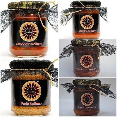 Conserve di Sicilia Scirocco Sicily prodotti tipici siciliani