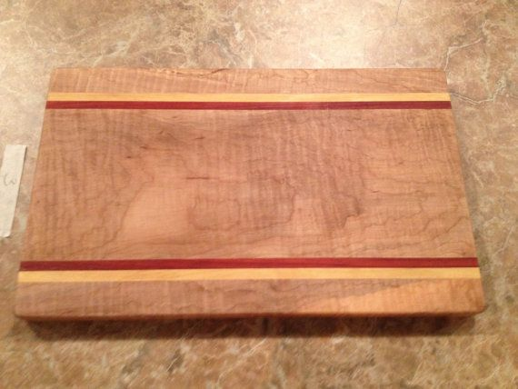 Pretty Artisan Crafted Cheese Board Solid by GWCWoodcrafts on Etsy
